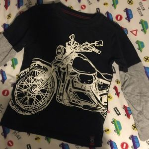 Carter's Long Sleeve Motorcycle Tee